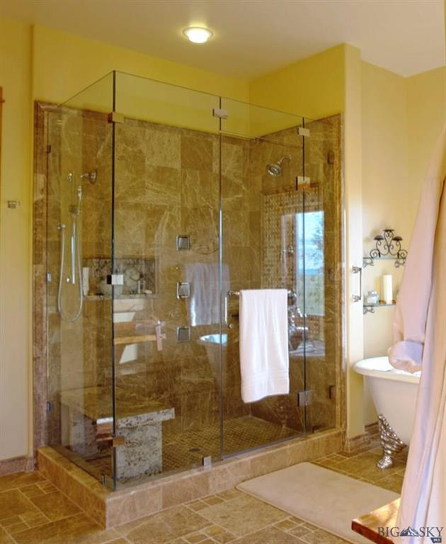 Custom Shower in Master