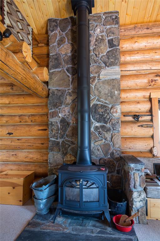 New Wood Stove in Living Room