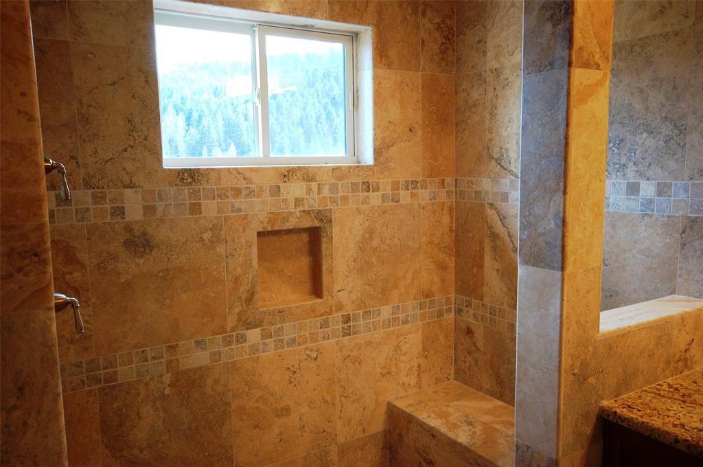 Custom Tiled Shower in Master