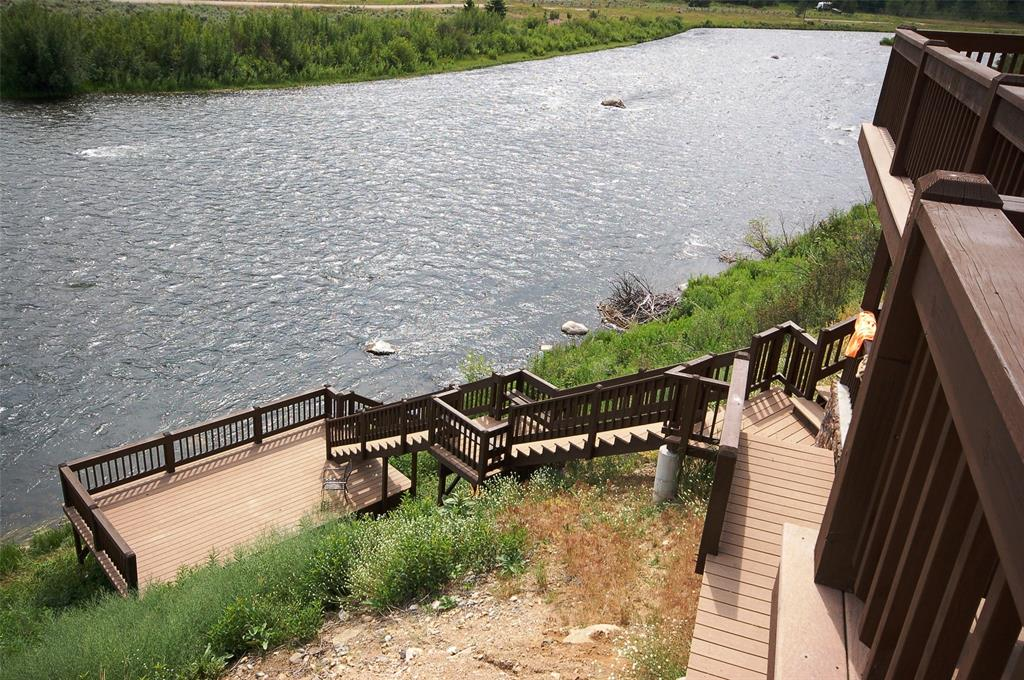 Stairway to the Madison River