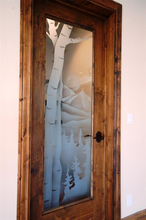 Custom Walk In Pantry Door