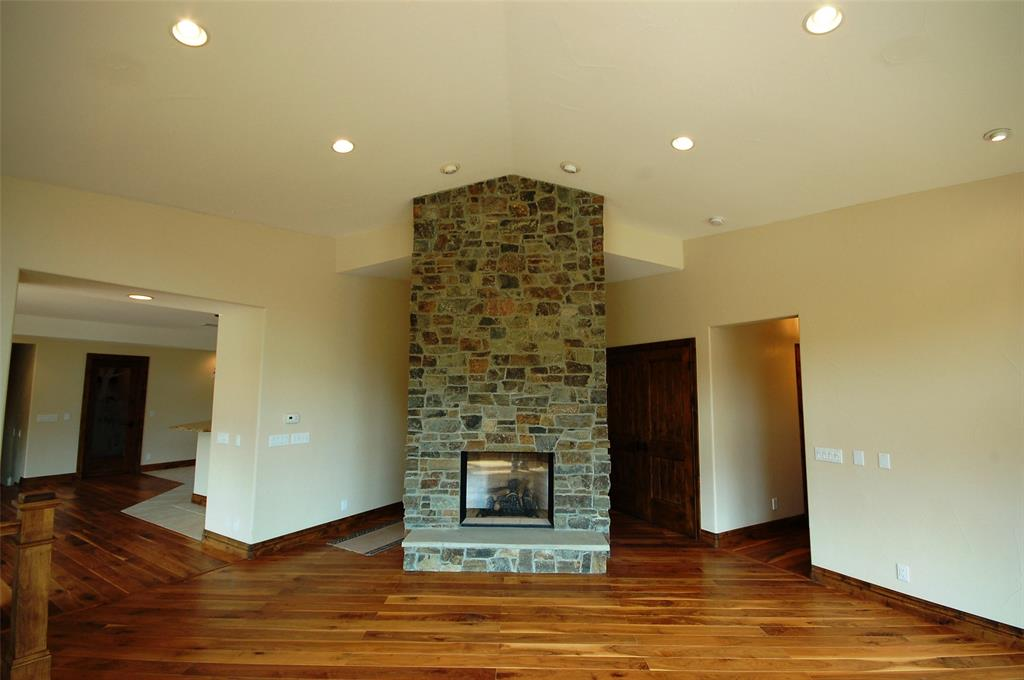 Propane Fireplace in Living Room